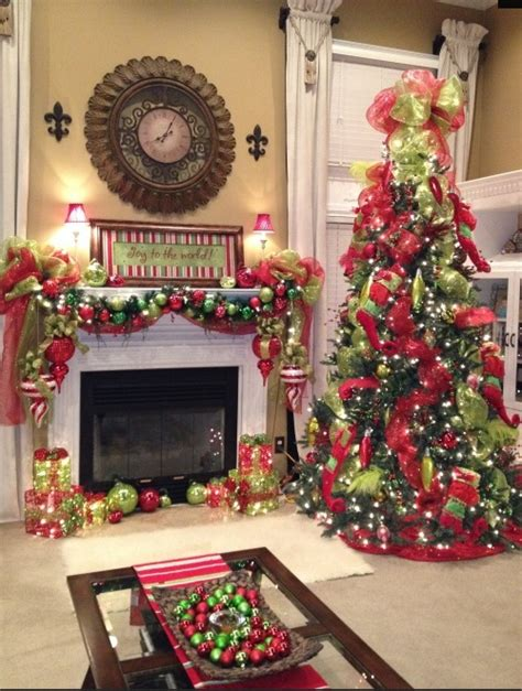 fireplace christmas decorations ideas tree mantel christmas fireplaces decoration ideas for