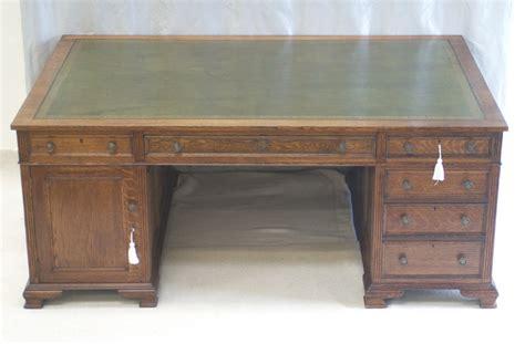 Partners Desk Antique by Large Antique Oak Partners Desk By Maple Co