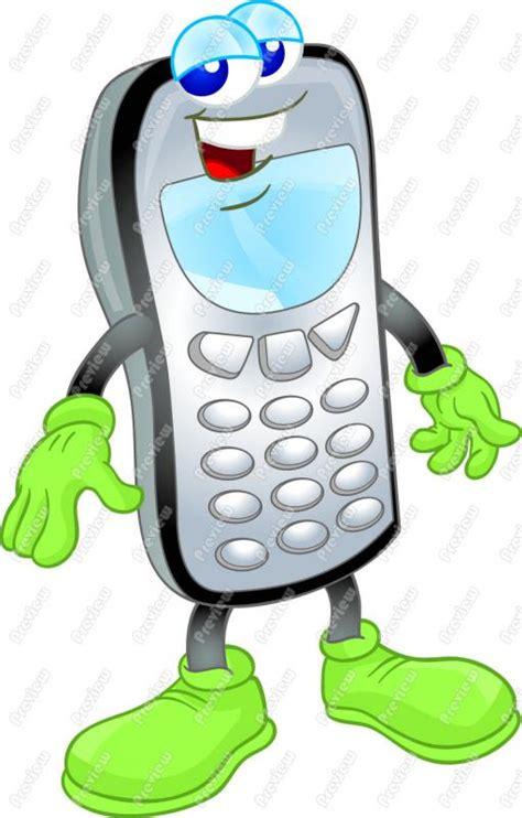 cartoon themes cell phone clip art phone anime pinterest clip art phones and