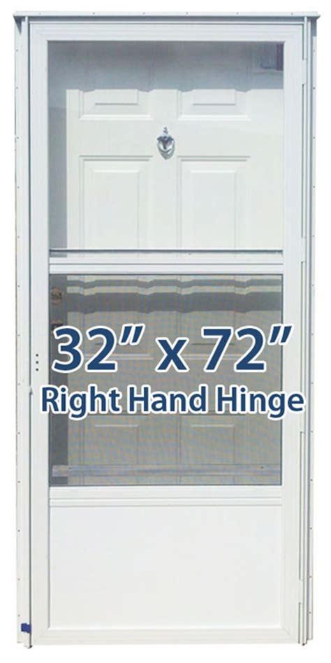32 X 72 Exterior Door 32x72 Steel Solid Door With Peephole Rh For Mobile Home