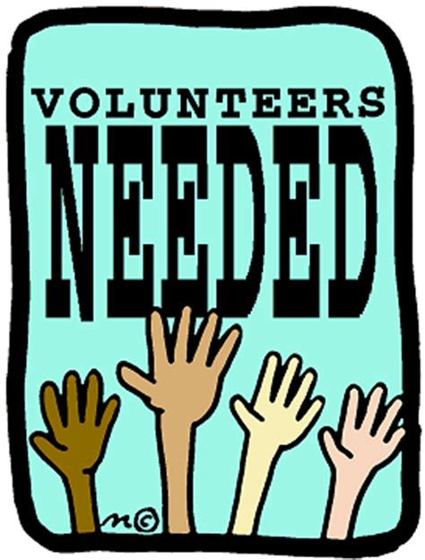 volunteer for free room and board volunteers needed clipart pto reunions clip and marathons