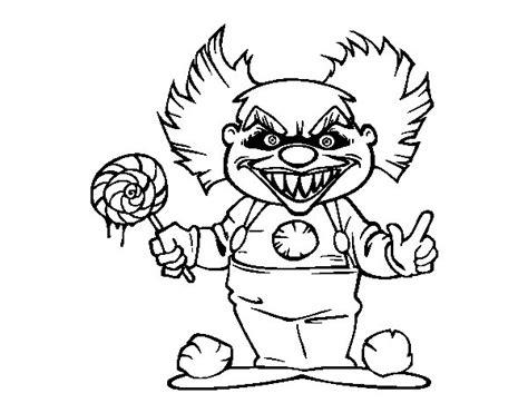imagenes de halloween para juegos de baño dibujo de payaso diab 243 lico para colorear dibujos de