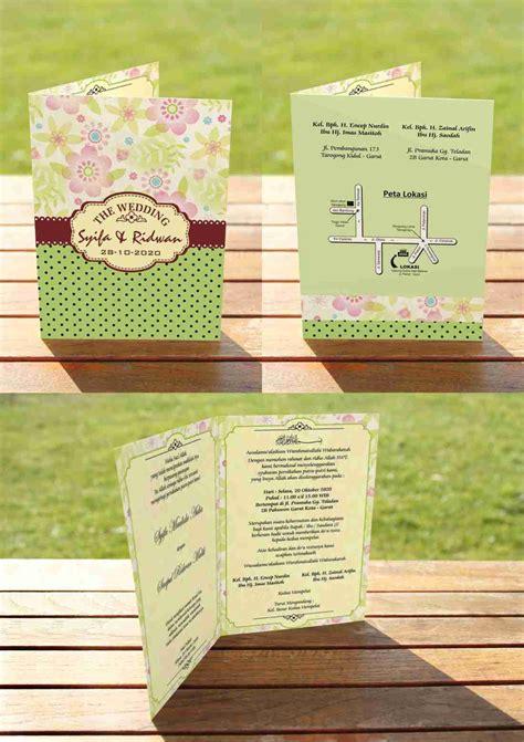 Template Undangan Psd | contoh 100 template undangan pernikahan format psd
