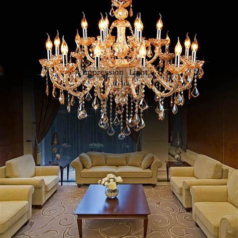 dining room candle chandelier luxury candle crystal ceiling light bedroom dining room