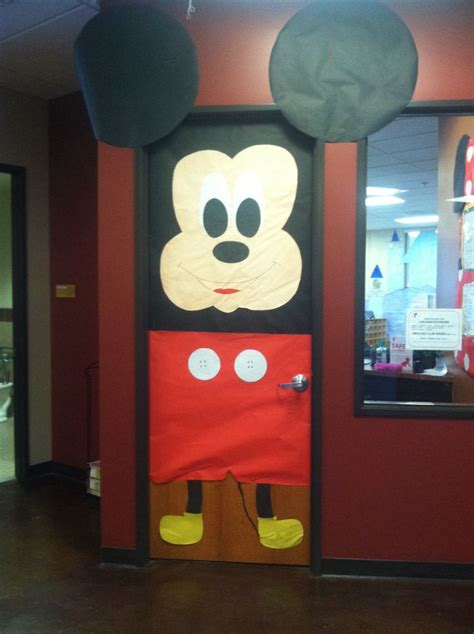 Mickey Mouse Door by Mickey Mouse Classroom Door Inspiration