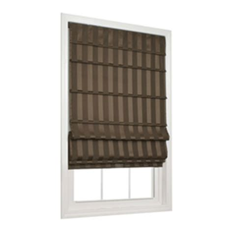 Allen And Roth Window Treatments - shop allen roth 27 in w x 72 in l cafe light filtering cordless polyester fabric roman shade