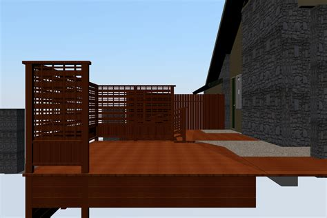 roof deck plan foundation new deck out with a new deck cobblestone development