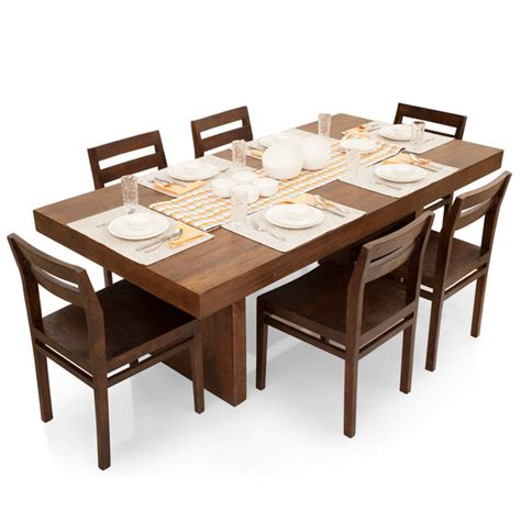 6 Seat Dining Table Set Barcelona 6 Seater Dining Table Set Thearmchair