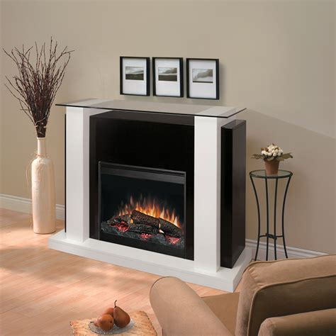 black and white fireplace dimplex 26 quot black and white electric fireplace