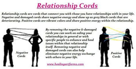 spiritual world healing relationships energy cords