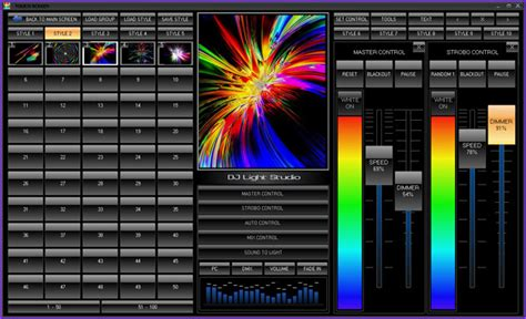 led light control software dmx lighting control software for night clubs discos and bars