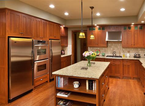 contemporary craftsman kitchen design traditional craftsman home craftsman kitchen columbus by