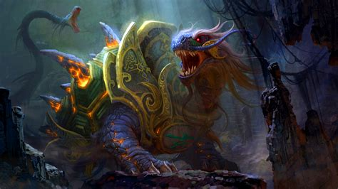 epic film creature battle beast dragon turtle art id 52051 art abyss