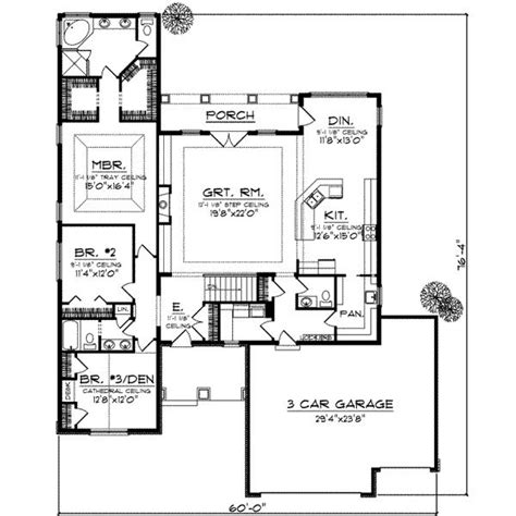 House Plans With Large Pantry by Pin By Bartlett On House Plans