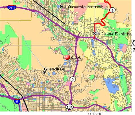 Zip Code Map Glendale Ca | glendale zip code map my blog