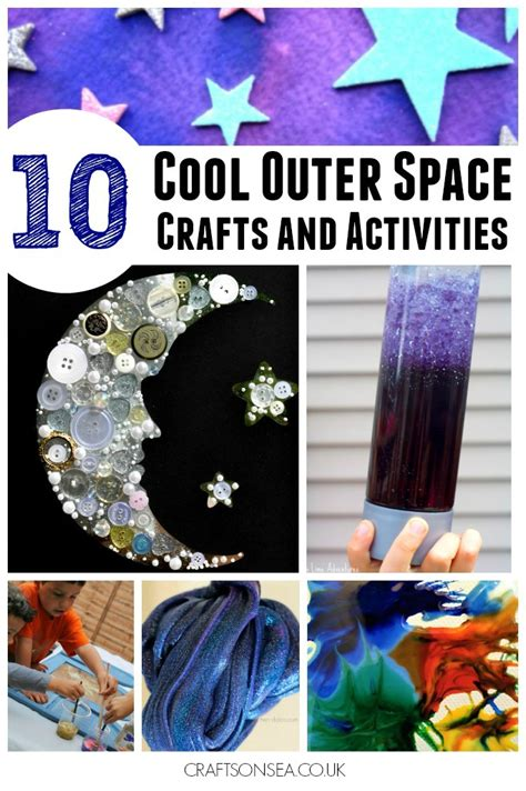 space craft ideas for the coolest outer space crafts for crafts on sea