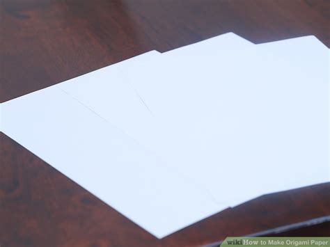 Origami Paper Substitute - how to make origami paper 10 steps with pictures wikihow