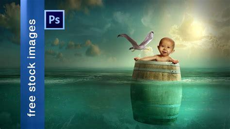 photoshop cc manipulation tutorial child barrel youtube