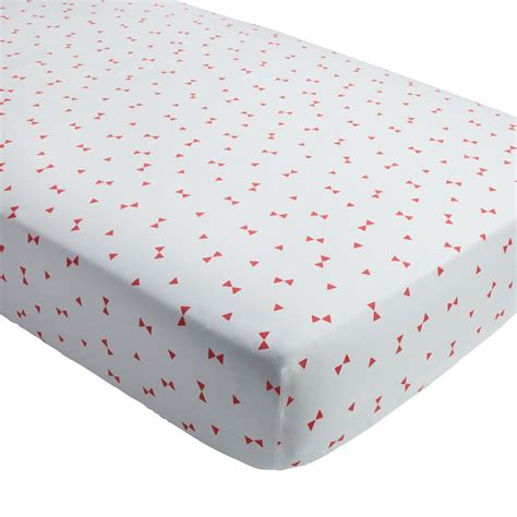 A Fitted Crib Sheet by Fitted Crib Sheets The Land Of Nod