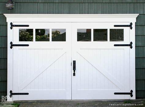 Real Carriage Garage Doors Real Carriage Doors Closeup Garage Ideas Carriage Doors And Doors