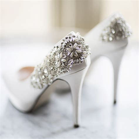 Wedding Shoes Embellished by Indulgence By Pink Paradox Embellished Ivory