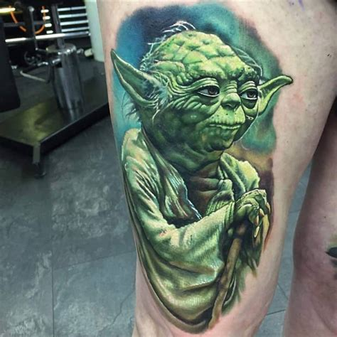 57 unique star wars yoda tattoos
