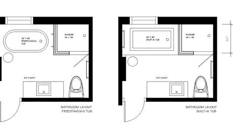 small bathroom layout with tub and shower euffslemani