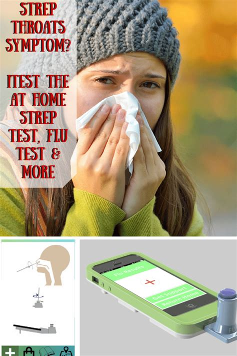 strep throats symptoms itest the at home strep test flu