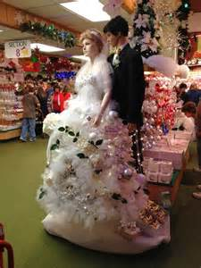 Christmas tree ornament wedding gown christmas pinterest