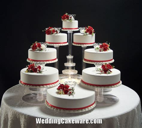 Wedding Tier Cake Stand by 8 Tier Cascade Wedding Cake Stand Stands Set 84 95