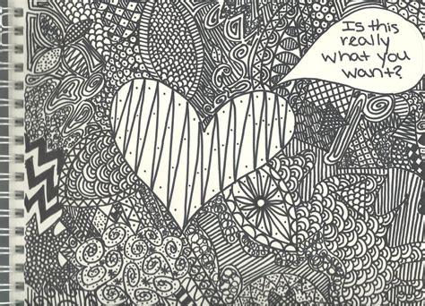 random pattern drawing sharpie doodle with random patterns by littlemissbrynne on