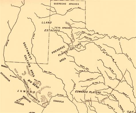 map of southwest texas peoples