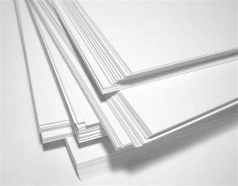 How To Make Paper Thicker - paper stock thickness guide