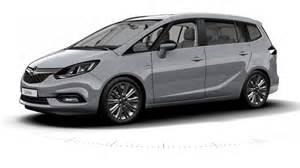 Opel Zafira 2017 Opel Zafira Tourer Facelift
