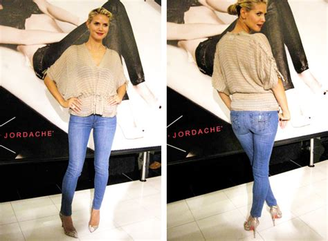 Heidi Klum By Jordache The Denim Collection 2 by Five Minutes With Heidi Klum At The Heidi Klum By Jordache
