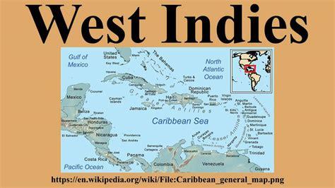 west indies map west indies