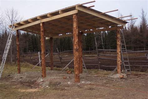 lean  pole barn plans yesterdays tractors pole barn