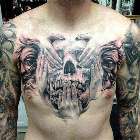 hear no evil skull tattoo designs 17 best images about on evil tattoos