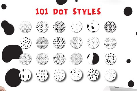 seamless pattern dots 101 dots seamless patterns vector design bundle