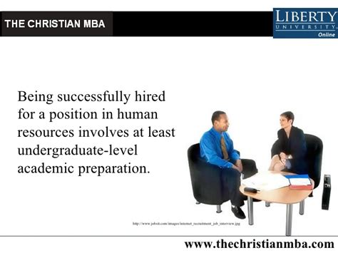 Mba In Hr In Uk by Christian Mba In Human Resources