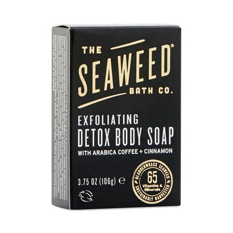 Bar Soap Detox Cellulite by Detox Cellulite Bar Soap By Seaweed Bath Co Thrive Market