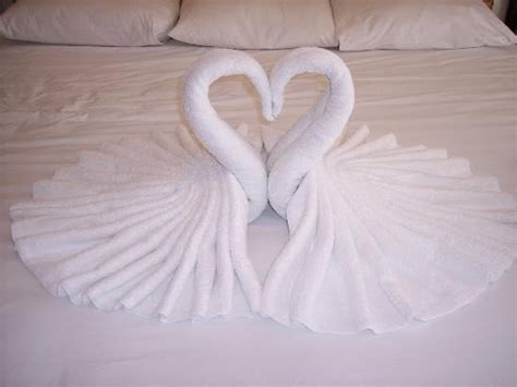 Easy Towel Origami - 24 best swan towel images on