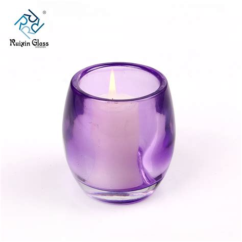 wholesale glass glass votive holders clear votive candle holders