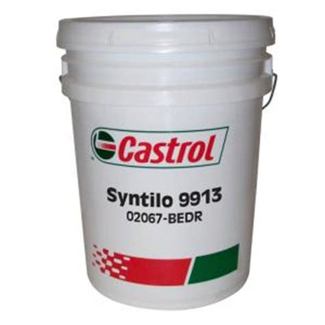 Oli Castrol Clearedge Ep 690 castrol syntilo 9913 synthetic coolant 5 gallons
