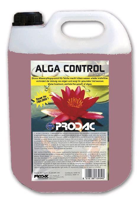 Prodac Algacontrol Pond 350ml 130205 Algas Controle Pond 5 Litros Prodac Anti Aq 250 A Verde