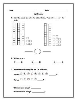 bridge pattern unit test everyday math grade 1 unit 5 review math ideas