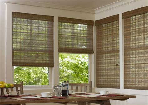 rattan blinds woven wood shades blinds budget blinds