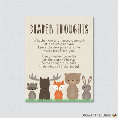 things to say on baby shower card woodland baby shower thoughts baby shower