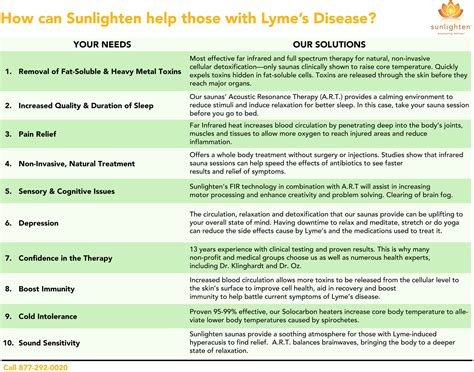 Detox Treatments For Lyme Disease by Sunlighten Saunas And Lyme Disease