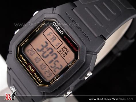 Casio Digital Pria W 800hg 9av buy casio mens multi alarm digital w 800hg 9av